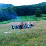 Tabără creștină cu copii și tineri instituționalizați la Mănăstirea Piatra Craiului