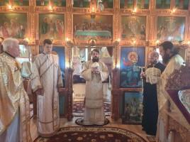 Preasfințitul Benedict Bistrițeanul a poposit în filia Fântânele a parohiei Matei