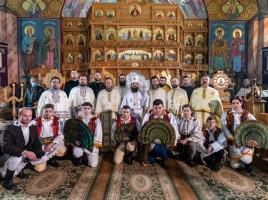"""Sărbătoarea """"Sfinților Trei Ierarhi"""" în Parohia Spermezeu"""